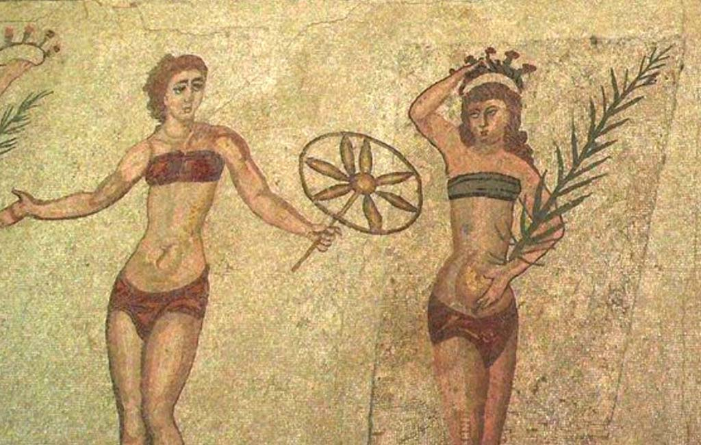 Ancient Bikini Wearers